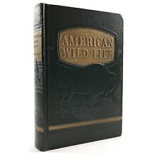 AMERICAN WILDLIFE illustrated by Austin Baylitts Faux Leather Decorative Book