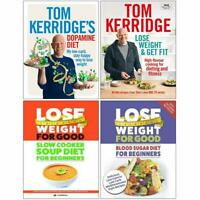 Dopamine Diet,Lose Weight & Get Fit,Slow Cooker Soup Diet 4 Books Collection Set