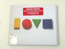 JASON MRAZ - LOVE IS A FOUR GIVE UP - CD DIGIPACK ATLANTIC 2012 - M/NM - DP