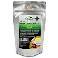 Turmeric Root Tea Bags 30 Count Curcuma Longa Organic 100% Pure Premium Quality