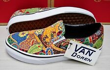 Vans Classic Slip On Van Doren Multi Aborigine Women's Size:6