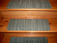 14  Step Indoor Stair Treads Staircase Step Rug Carpet  9'' x 24''  0072.