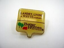 Vintage Collectible Pin: Landry Lyons Whyte Co. Better Homes and Gardens