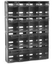 Complete Tilt Bin Van Kit (16 Compartments).  Small Parts Bins.