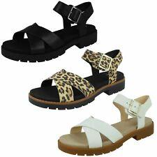 Ladies Clarks Orinoco Strap Casual Buckled Sandals