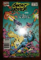 Ghost Rider and Cable Servants of the Dead Marvel 1992 NM