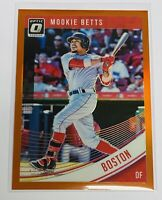 2018 DONRUSS OPTIC | ORANGE #69/199 | BOSTON RED SOX | MOOKIE BETTS
