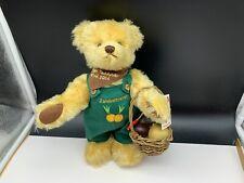 Hermann Teddy Bear 11in Limited Unbespielt. Top Condition