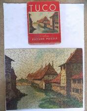 Vintage Tuco Deluxe Picture Puzzle 16 x 20 European Village