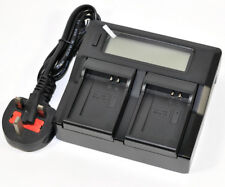 LCD Quick Battery Charger for Canon Nb-12l Nb12l Legria Mini X PowerShot G1x G1