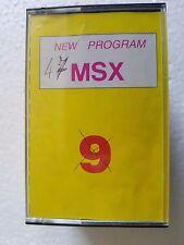 Msx NEW Program msx n.9