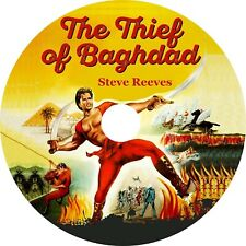 The Thief of Bagdad (1961 Cult Fantasy film in dubbed English) Disc only