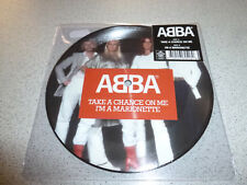 """ABBA - Take A Chance On Me / I'm A Marionette -  Picture 7"""" Vinyl Single /// Neu"""