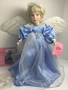 "Patricia Rose - Paradise Galleries ""Angel of Peace"" Porcelain Doll - NIB"