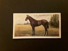 W.&F. FAULKNER1924.PROMINENT RACEHORSES OF THE PRESENT DAY 2ND SERIES CARD NO37.