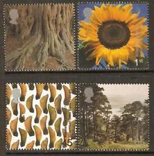 GB MNH STAMP SET 2000 Tree and Leaf Millennium SG 2156-2159 UMM