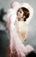 8x10 Print Norma Talmadge Beautiful Fashion Portrait New York Nights 1929 #NT26