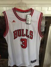 Adidas Authentic NBA Jersey CHICAGO Bulls Dwayn Wade sz 2X