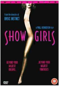 SHOWGIRLS DVD [UK] NEW DVD