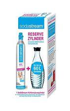 Reservepack Kohlensäure Zylinder SodaStream Glaskaraffe Reserve CO2 Zylinder