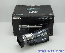 SONY HDR-HC1E CAMCORDER BOXED HD HIGH DEFINITION MINI DV DIGITAL TAPE HDV VIDEO