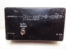 In Line Audio DC-2 Direct Connector Vintage Guitar Pedal Made in Japan