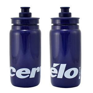 ELITE Fly Team CERVELO Water Bottle Blue , 550ml