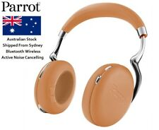 Parrot Zik 3 Bluetooth Wireless ANC Active Noise Cancelling Headphones Camel