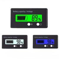 6V-70V LCD Battery Capacity Indicator Digital Voltage Monitor Tester 2019 N  NEW