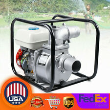 3 75hp 4 Stroke Commercial Gasoline Water Pump Gas Powered Water Transfer Pump
