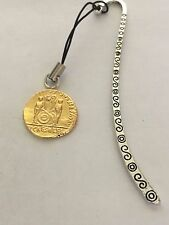 Aureus Of Augustus Coin WC79 Gold Fine English Pewter On A PATTERN Bookmark