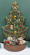 Midwest Of Cannon Falls 11 ½� Tall Decorated Christmas Tree Cast Iron Doorstop G