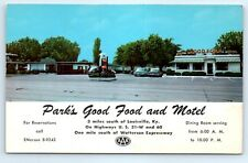 Postcard KY Louisville Park's Good Food And Motel Vintage Photo View B5
