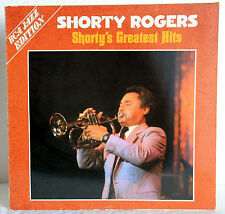 "12"" VINYL Shorty Rodgers-Shorty 's Greatest Hits"