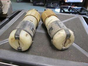 Hubbell / Arrow Hart  Plug Set  20A  250V  3P  **Lot of 2**