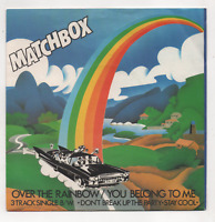 MATCHBOX - OVER THE RAINBOW / YOU BELONG TO ME +2. (UK, 1980, MAGNET, MAG 192)