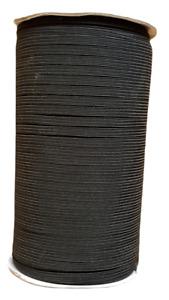 10m Flat 5mm Black Elastic Cord 5mm Sewing Elastic Face Mask 10metres £2.99