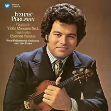 Itzhak Perlman - Paganini: Violin Concerto No. 1 - Sarasate: Carmen Fan (NEW CD)