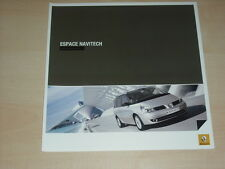 40409) Renault Espace JK Navitec Prospekt 12/2007