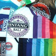 Bali Bintang Beer Singlet Tshirt Asstd Colours One Way Stretch Size XS S M L XL