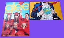 GLEE sdcc 2012 FOX Exclusive Poster CHRIS COLFER LEA MICKELE CORY MONTEITH BLAKE