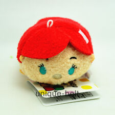 "3.5"" New The Little Mermaid Princess Ariel Tsum Tsum Stuffed Plush Toy Doll"
