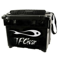 TF Gear NEW Deluxe Lightweight Match & Feeder Fishing Seat Box Ex Demo