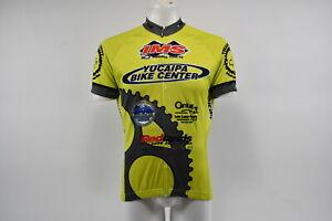 Verge V Gear Yucaipa Bike Men's S/S Cycling Jersey, Grn/Yel, FZ, L, Brand New