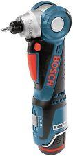 Bosch PS10-2A 12 Volt Max Cordless I-Driver Litheon Li-Ion W/Case Angle Drill