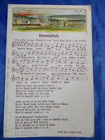 Anthon Günther Herwistlied Herbstlied Volkslied Erzgebirge Liederkarte Postkarte
