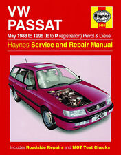 3498 Haynes VW Passat 4-cyl Petrol & Diesel (May 1988 - 1996) Workshop Manual