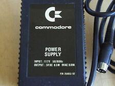 Vintage COMMODORE 7-Pin DIN POWER SUPPLY 5V DC 8.5W 9V AC 9.0VA P/N 251053-02