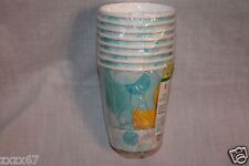 NEW  BABY SHOWER DUCKS 8 CUPS  PARTY SUPPLIES