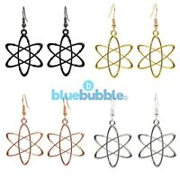 Bluebubble CRAZY SCIENCE Atom Earrings Cute Kitsch Geek Symbol Nerd Funky Fun UK